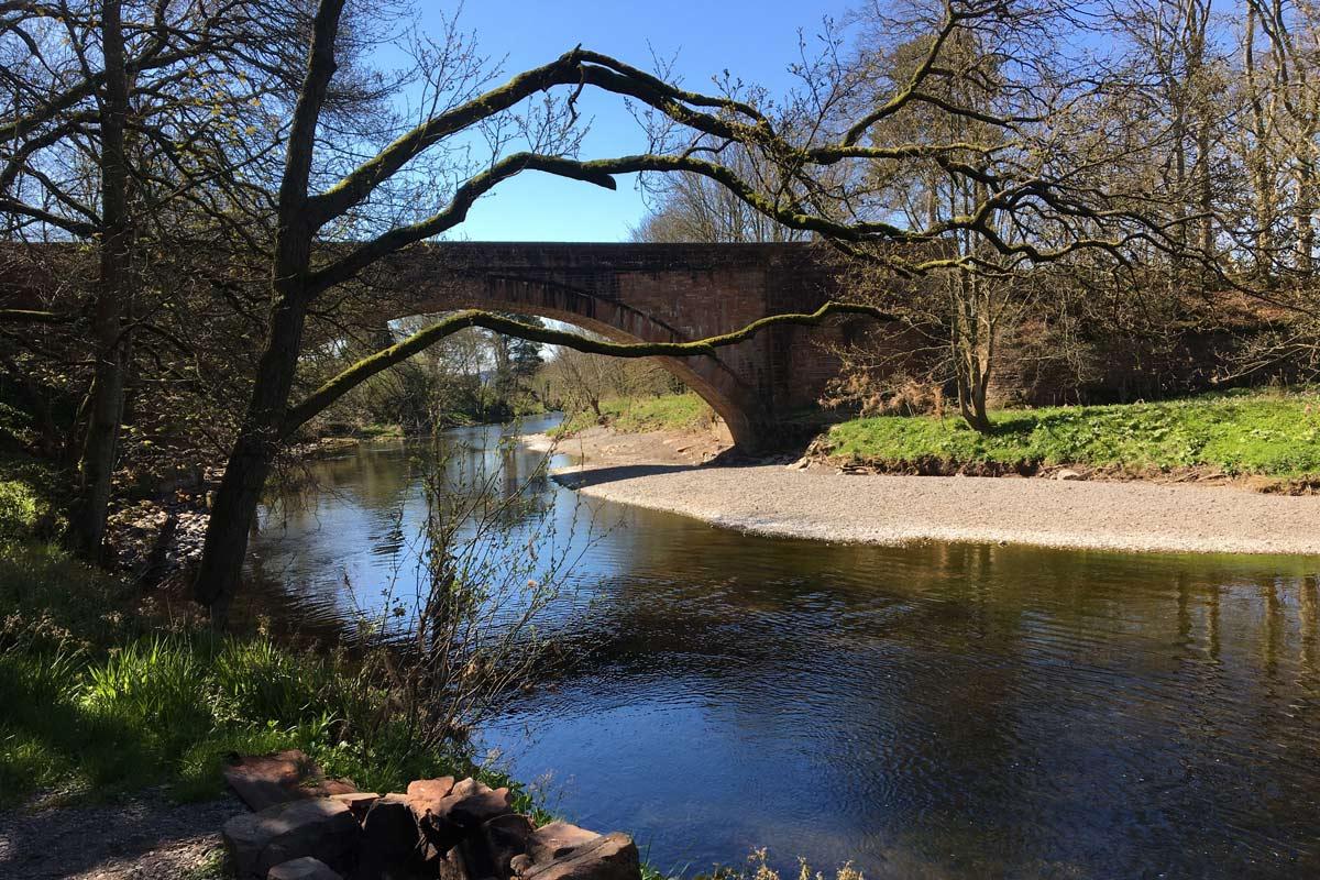 River Annan at Millhousebridge