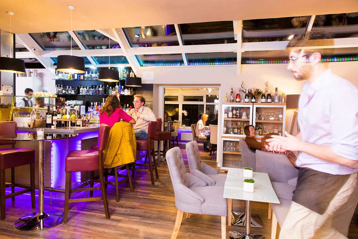 Bar at Dalton Gin Distilery