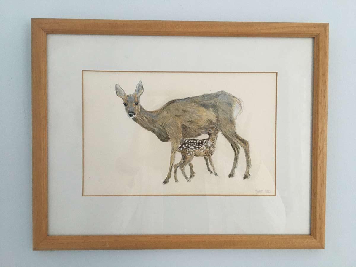 Roe Deer by Minette Bell Macdonald